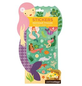 Petit Collage Mermaid Friends Stickers