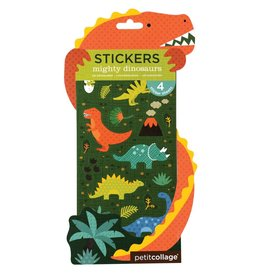 Petit Collage Mighty Dinosaur Stickers