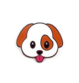 Valley Cruise Press Dog Emoji Pin