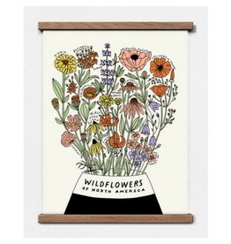 Worthwhile Paper Wildflowers of North America, 11x14