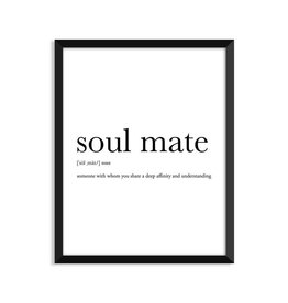Footnotes Studio Art Print - Soulmate