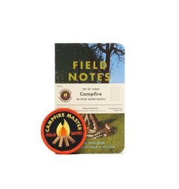 Field Notes Campfire Memo Book, Pack/3