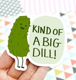 Turtle's soup Big Dill Sticker