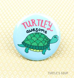 Turtle's soup Turtley Awesome Pin