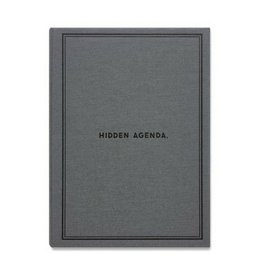 Easy Tiger Hidden Agenda Notebook