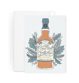 Paper Raven Co. Whiskey Card
