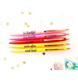 Taylor Elliott Be Kind, Stay Humble Pens