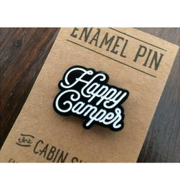 The Cabin Supply Co. Happy Camper Enamel Pin