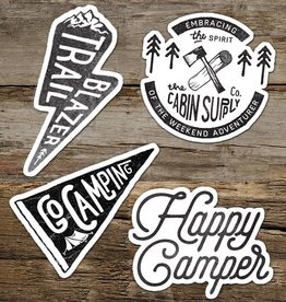 The Cabin Supply Co. Trail Blazer Vinyl Sticker