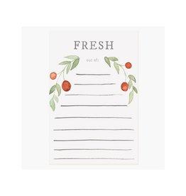 Pen + Pillar Fresh Grocery Notepad