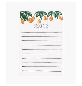 Pen + Pillar Kumquat Grocery Notepad