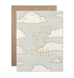 Hartland Brooklyn All Dogs Go To Heaven Card