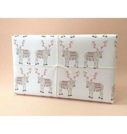 Hartland Brooklyn Reindeer Wrapping Sheets- 3 pack