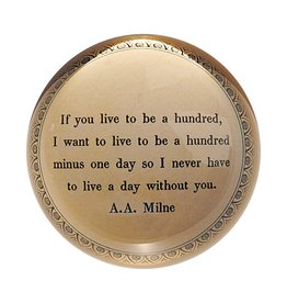 SugarBoo Designs Paper Weight - If You Live To Be