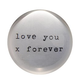 SugarBoo Designs Paper Weight - Love You X
