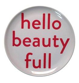 SugarBoo Designs Plate - Hello Beauty Full, Set/4