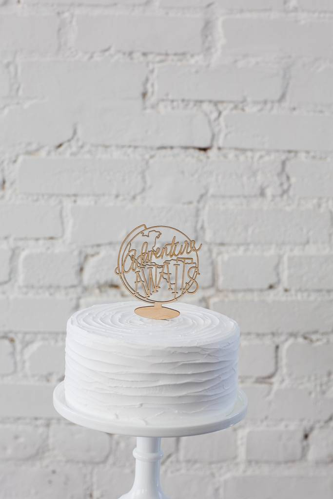 Belle and Union Adventure Awaits Cake Topper
