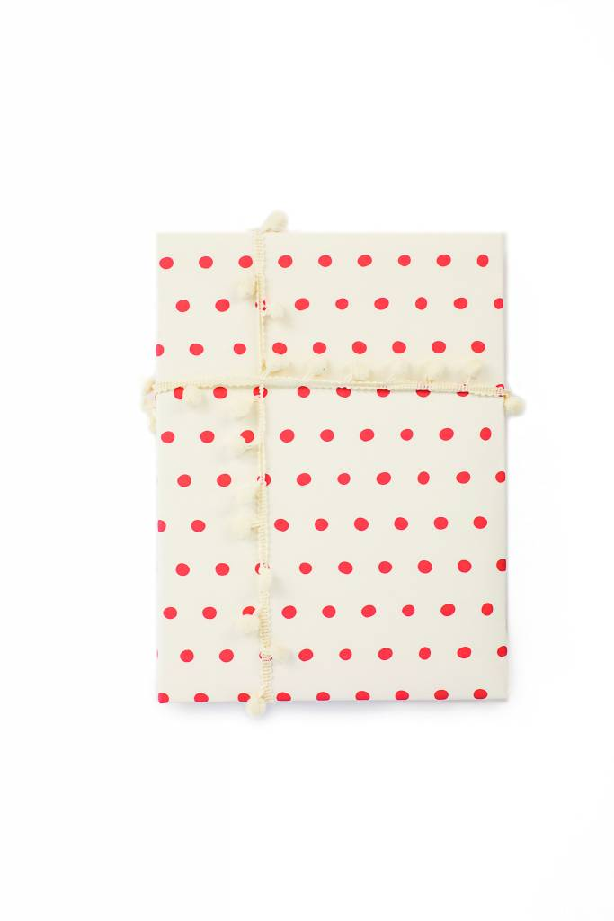 Belle and Union Orange Dots Gift Wrap