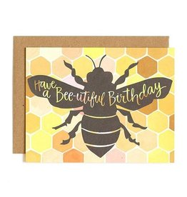 1Canoe2 Bee-utiful Birthday Card
