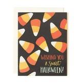 1Canoe2 Halloween Candy Corn Card