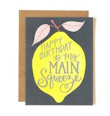 1Canoe2 Lemon Birthday Card