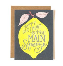 1Canoe2 Lemon Birthday Card