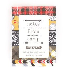1Canoe2 Notes From Camp Stationery Set