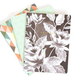 1Canoe2 Slim Notebooks, Set/3