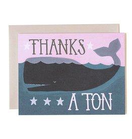 1Canoe2 Thanks a Ton Card