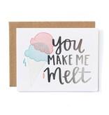 1Canoe2 You Make Me Melt Card