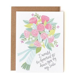 1Canoe2 Bridesmaid Bouquet
