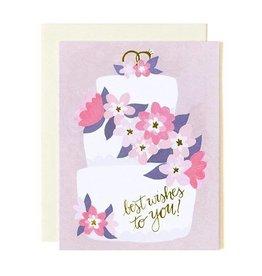 1Canoe2 Wedding Cake Best Wishes