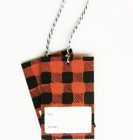 Idlewild Co. Plaid Tags & Twine