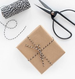 Knot and Bow Kraft Wrap