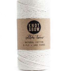 Knot and Bow Natural Cotton Twine