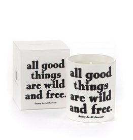 Quotable All Good Things Candle