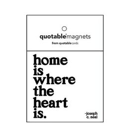 Quotable Home Is Where Magnet