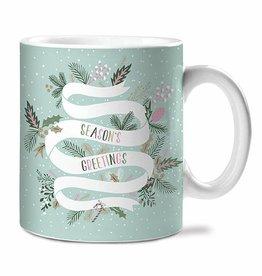 Studio Oh! Season's Greetings Ceramic Mugs