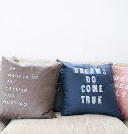 Casa & Co. Dreams Do Pillow, Indigo
