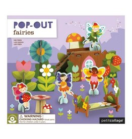 Petit Collage Fairies Pop-Out