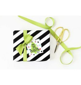 When It Rains Days Be Merry Gift Tags