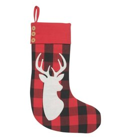 Now Designs Buffalo Check Stocking