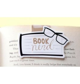 Crafted Van Booknerd Jumbo Bookmark