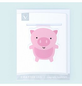 Crafted Van Pig Jumbo Bookmark