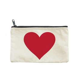 Seltzer Goods Big Red Heart Pouch