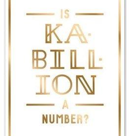 Easy Tiger Kabillion Foil Card