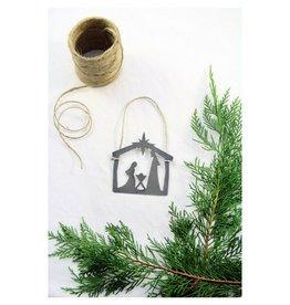 Highland Ridge Nativity Christmas Ornament