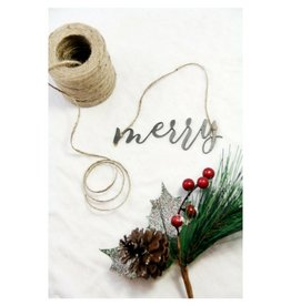 Highland Ridge Merry Christmas Ornament