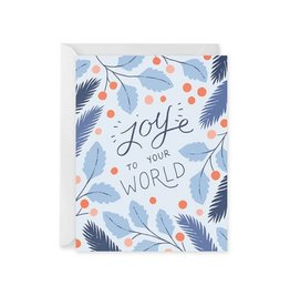 Paper Raven Co. Joy To Your World Card