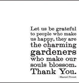Quotable Let Us Be Grateful